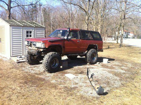 New axle in